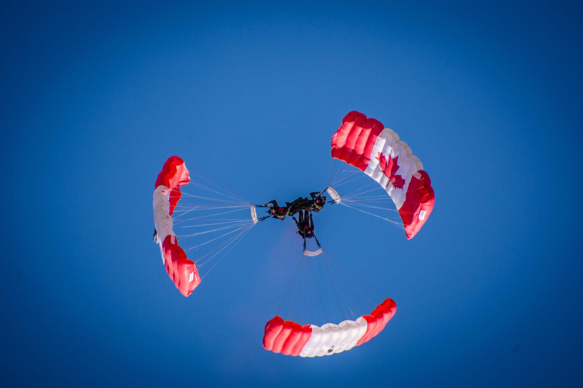 Skyhawks Parachute team